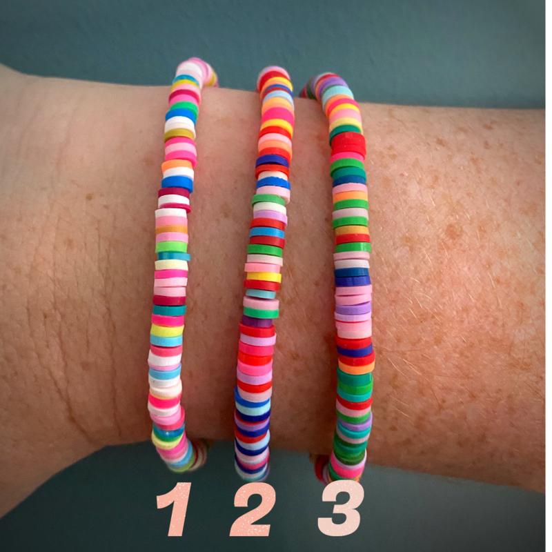 Color Explosion - set 3 armbanden
