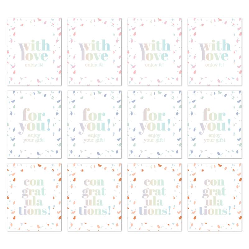 CollectivWarehouse - SOW & GROW rechthoek stickers holografisch