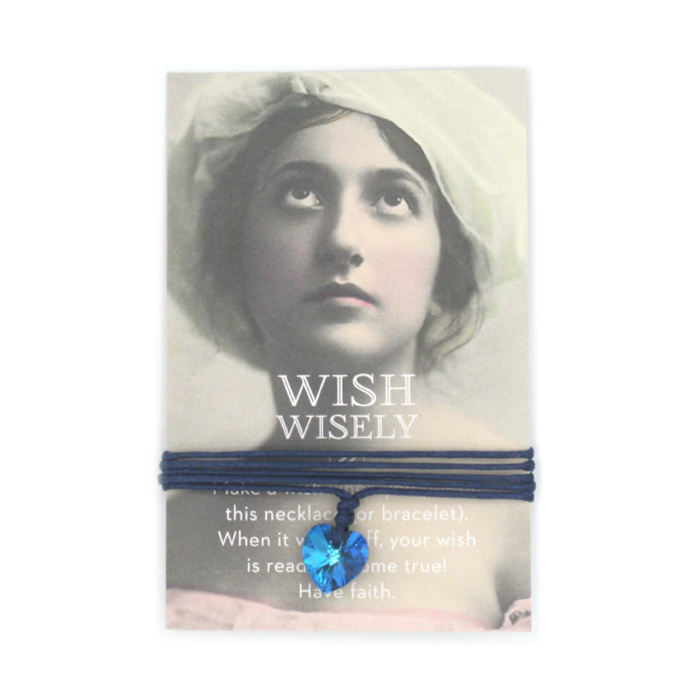 Wish wisely something blue