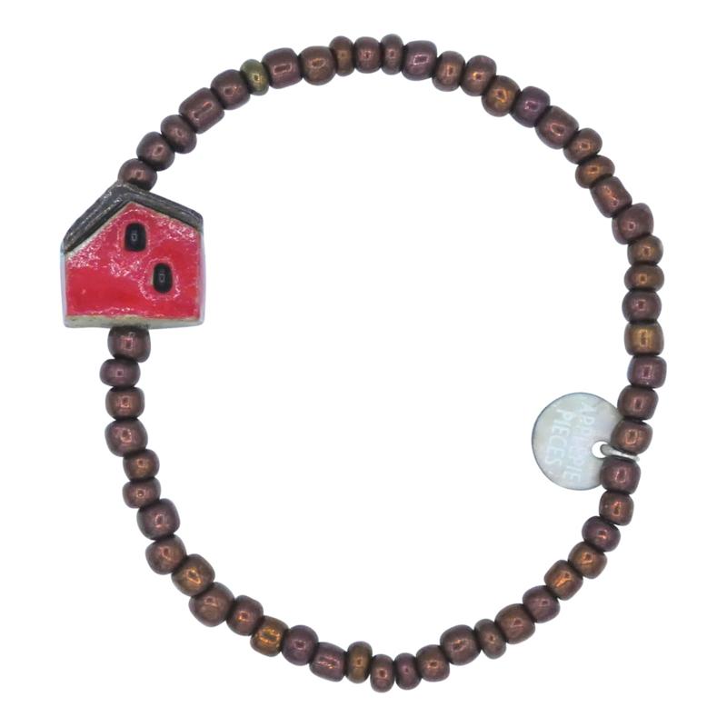 Sweet Homie armband - red