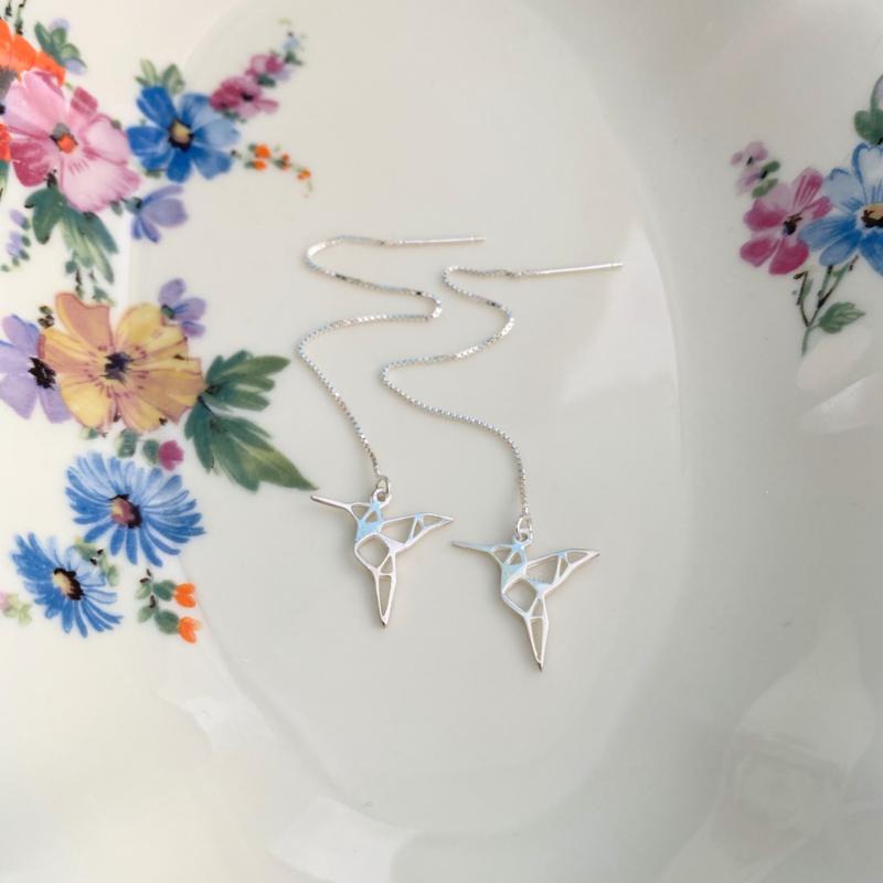 Kolibrie oorhangers