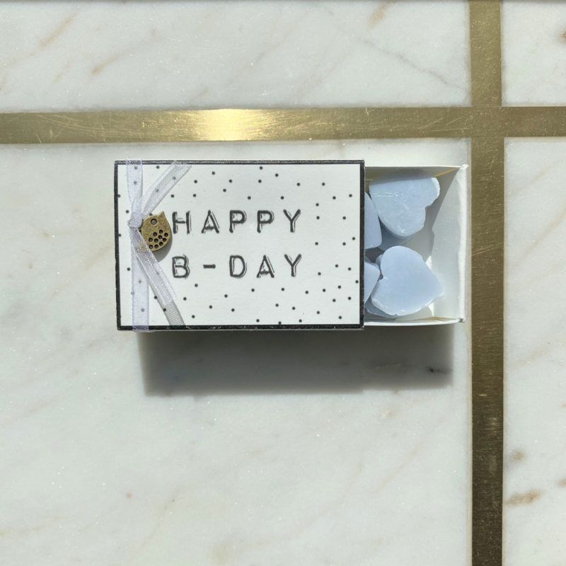 Soap in a box - Happy B-Day