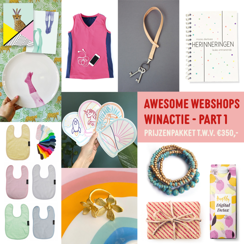 🎉 AWESOME WEBSHOPS WINACTIE