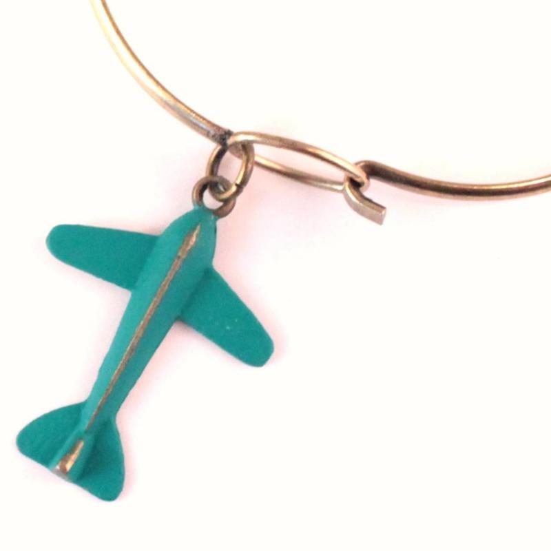 Gleeful Peacock -Airplane armband