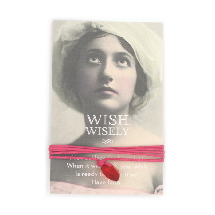 Wish wisely pink poppy
