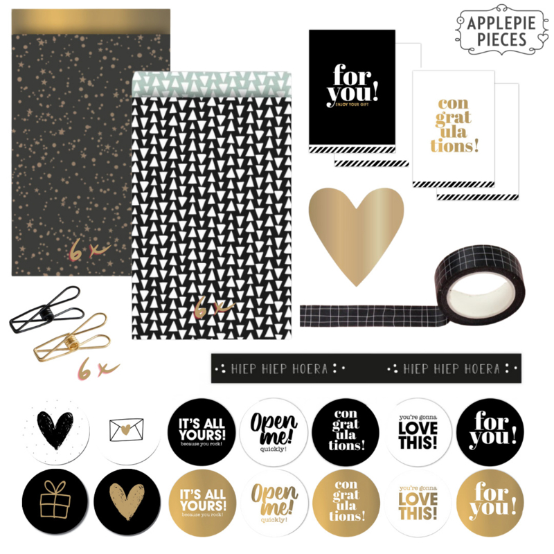 Giftset - Black and white