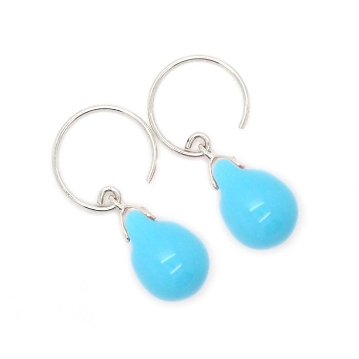 Happy tear oorbellen something blue