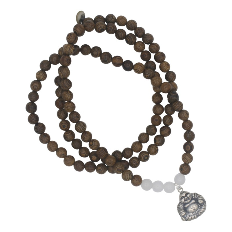 Buddha of Love ketting - wit