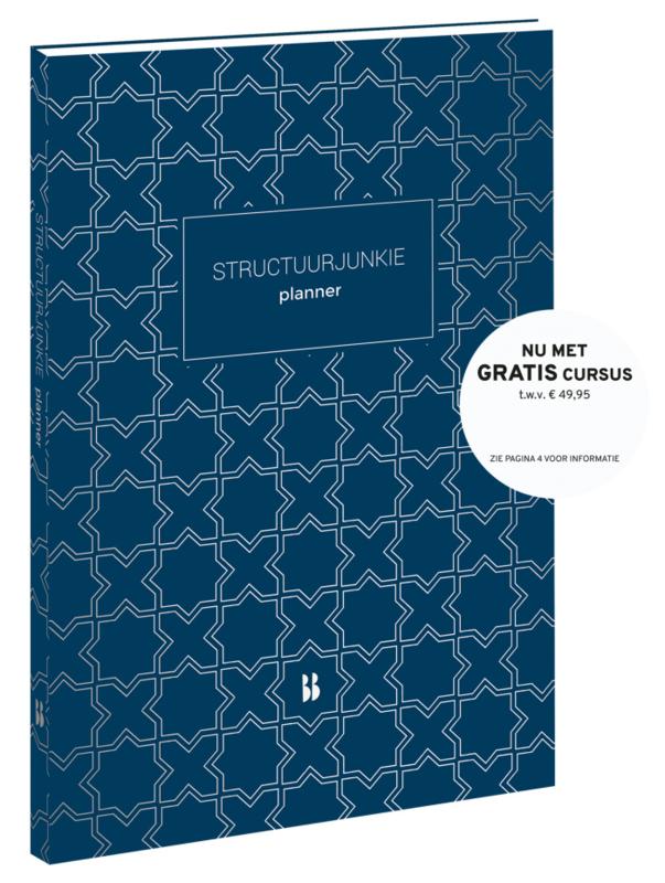 Structuurjunkie Planner nachtblauw (A4-formaat)
