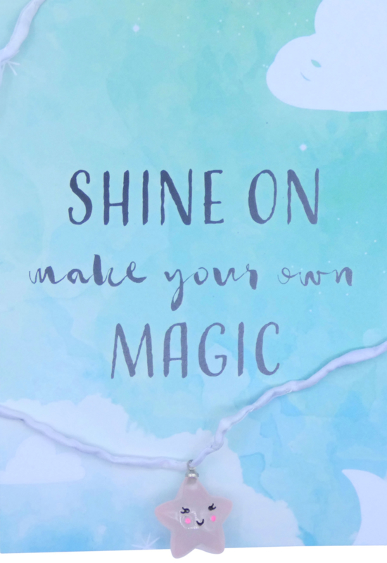 Shine on ketting star