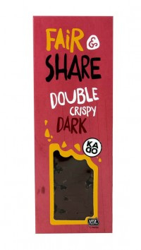 Milk Double Crispy Dark Bar