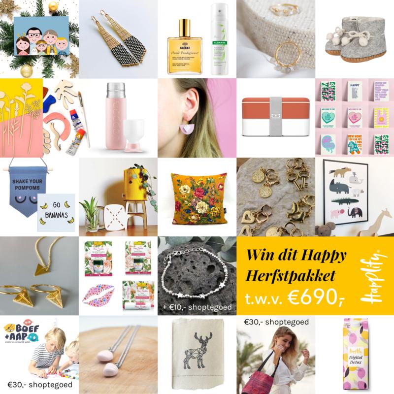 Win dit Happy Herfstpakket t.w.v. ± €690,-