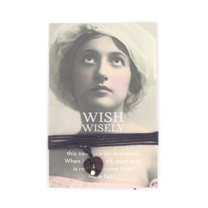 Wish wisely dark amethist