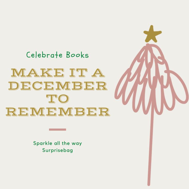 Celebrate Books Sparkle all the way