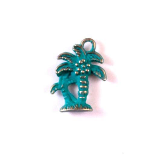 Gleeful Peacock - Palm Tree