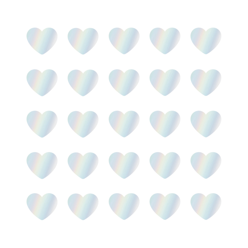 CollectivWarehouse - SOW & GROW Hearts cadeaustickers mini