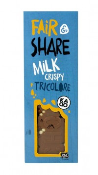 Milk Crispy Tricolore Bar