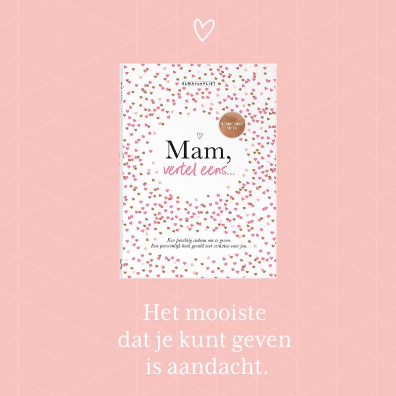 Win het boek 'Mam, vertel eens'