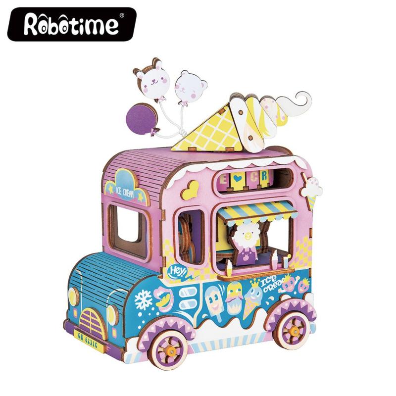 Rolife Robotime - Music Box Moving Flavor