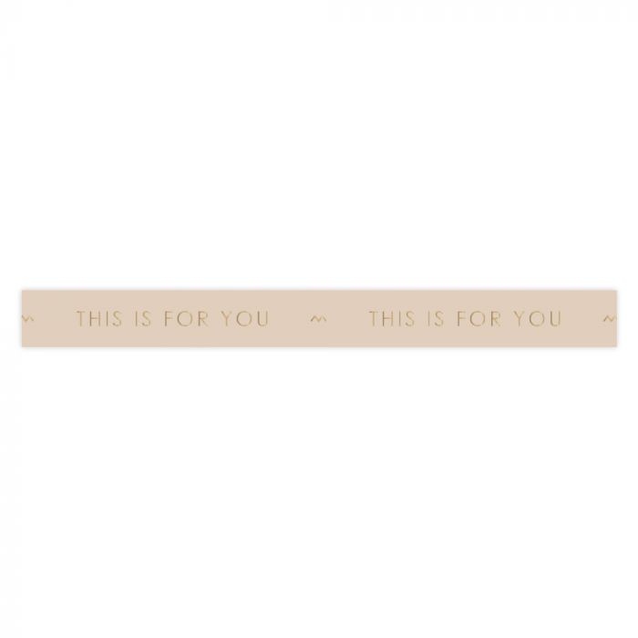 Lint - This is for you - Beige