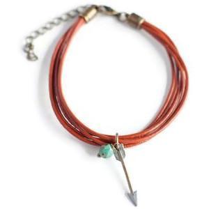 Gleeful Peacock - Color Theory armband 'Arrow'