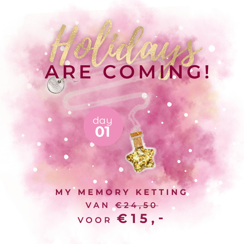 Day 1: My Memory ketting van € 24,50 voor € 15,-