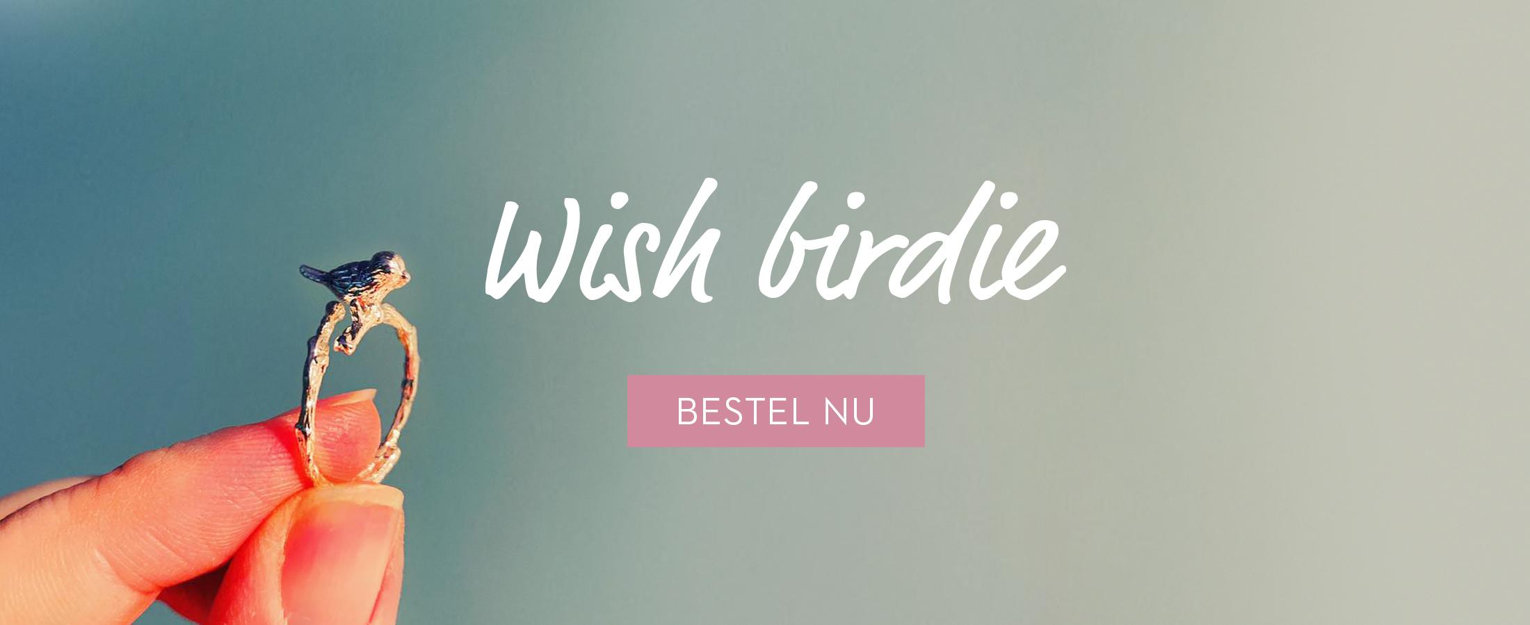 Wish birdie ring