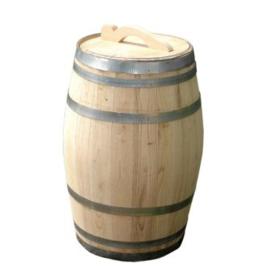 Regenton kastanje/whiskey 100 ltr.