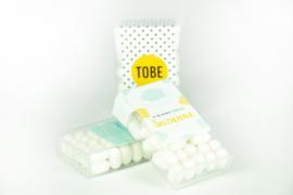 Sticker voor tic tac - vanaf 10 stuks