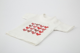 Mini T-shirtje voor grote fles