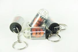 Sleutelhanger met led lampje - vanaf 10 stuks