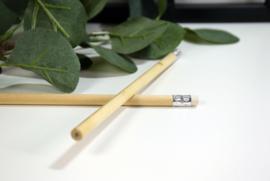 Houten potlood gegraveerd - vanaf 10 stuks