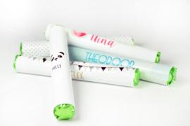 Sticker voor mentos - vanaf 10 stuks