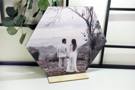 Foto op hout - groot - per stuk