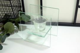 Theelichthouder glas - 1