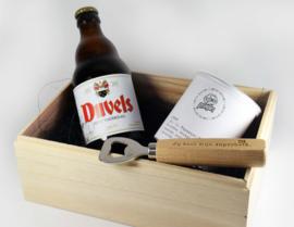 Cadeau doos - Duvel - Juf of meester