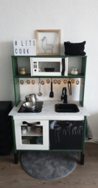 Ikea keukentje groen van Naomi