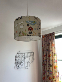 Lamp kinderkamer zoon Guido