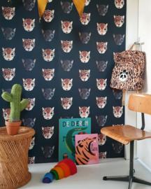 Jungle kamer behang Studio Ditte (Panthera donker)