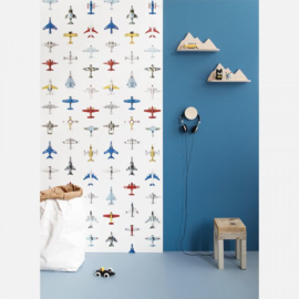 Vliegtuig behang