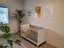 Posterset kinderkamer Rineke