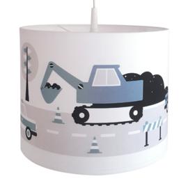 Kinderkamer lamp voertuigen - jeansblauw