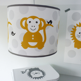 Kinderlamp aap