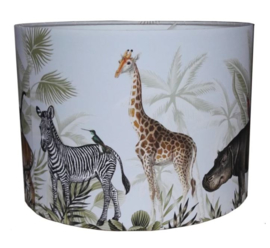 Jungle dieren lamp voor jungle kamer - kinderkamer