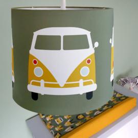 Lamp safari jungle bus kinderkamer - olijfgroen