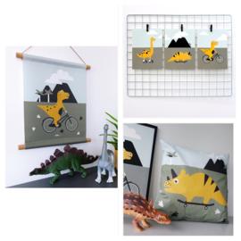 Kinderkamer aankleding en decoratie set - Dino kamer