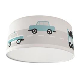 Kinderkamer plafondlamp voertuigen - licht blauw
