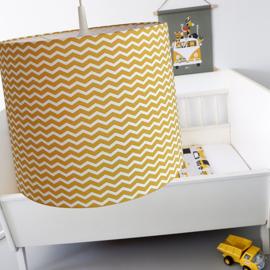 Lamp zigzag oker geel