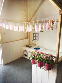 Kinderkeuken speelhoek bij kinderopvang Po & Pippo in Belgie