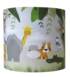 Wandlamp jungle kinderkamer